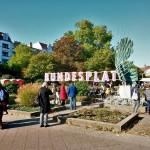 """Ein Tag lang """"Paradies Bundesplatz"""""""