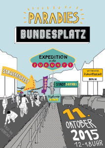 Paradies Bundesplatz, Flyer